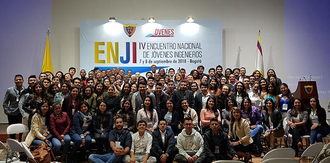 Con rotundo éxito finalizó el IV Encuentro Nacional de Jóvenes Ingenieros en Bogotá