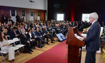 Son 130 años al servicio del país y la ingeniería colombiana, Presidente de la SCI en Sesión Solemne