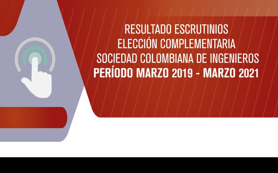 ACTA DE CIERRE DE VOTACIÓN ELECTRÓNICA E INFORME DE ESCRUTINIO PROCESO ELECCIÓN COMPLEMENTARIA
