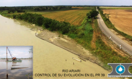 Obras hidráulicas de control de evolución del río Ariari y protección de la carretera Cruce Puerto Rico- Yé de Granada, alrededor del PR68 y del PR39 de la ruta 65, tramo 6508, en el departamento del Meta.